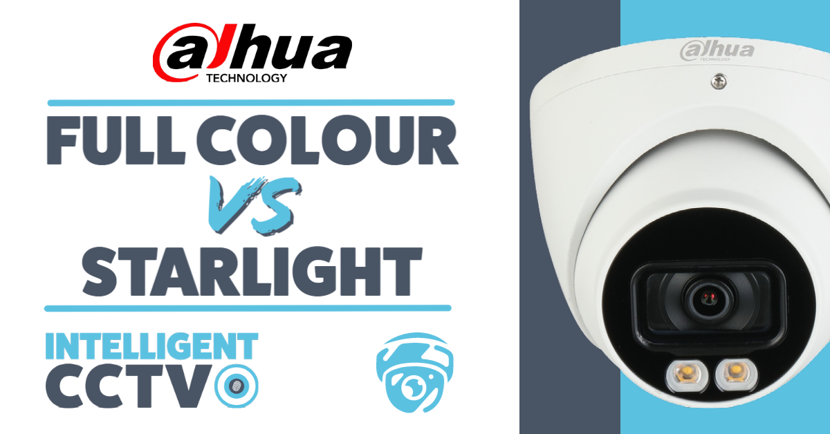 Dahua Full Colour Vs Starlight