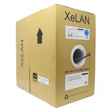 XeLAN Cat6 UTP 4 Pair Cable LSZH Dca   Box of 305m, Violet   4000-0001