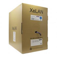XeLAN CAT6a UFTP 4 Pair LSZH Cable Dca   Box of 305m, Violet   5000-0001