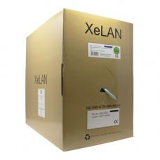XeLAN CAT6a UFTP 4 Pair LSZH Cable Cca   Box of 305m, Blue   5000-0002
