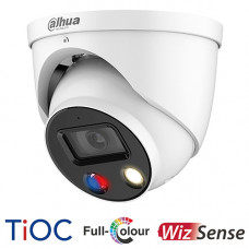 Dahua 5MP TiOC Full Colour Active Deterrence Turret Camera | IPC-HDW3549HP-AS-PV