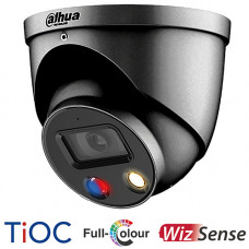 Dahua 5MP TiOC Full Colour Active Deterrence Turret Camera | IPC-HDW3549HP-AS-PV-G