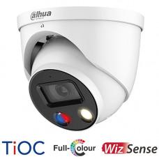 Dahua 8MP TiOC Full Colour Active Deterrence Turret Camera | IPC-HDW3849HP-AS-PV