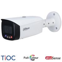 Dahua 8MP TiOC Full-Colour Active Deterrence Bullet Camera | IPC-HFW3849T1P-AS-PV