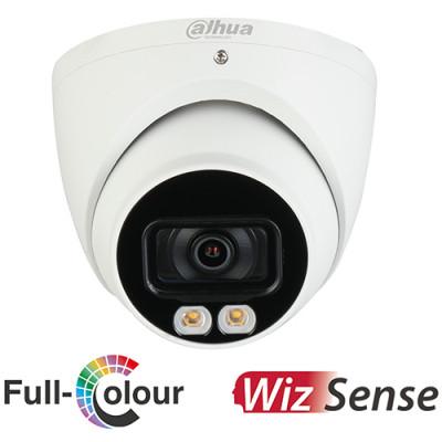 Dahua 5MP Full Colour Wizsense Turret Camera   IPC-HDW3549TMP-AS-LED