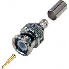 Excel BNC Crimp Plug for RG59 / RG62 / URM70 | 600-060