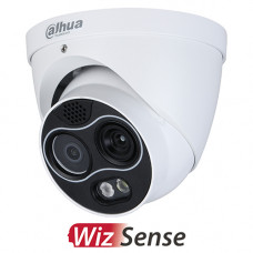 Dahua 4MP Wizsense Thermal Turret Camera | TPC-DF1241P-D3F4